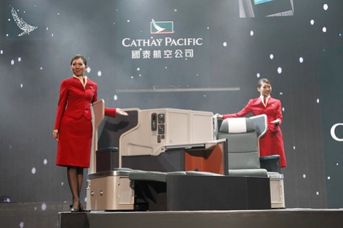 New Cathay Pacific Business Class