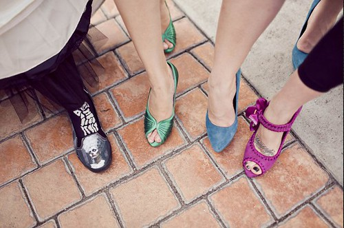 My shoes with the girls