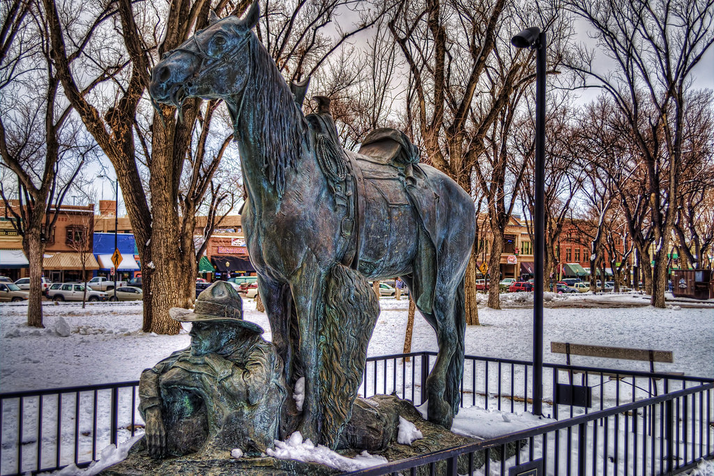 Bronze in Snow