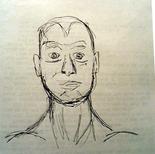Male face