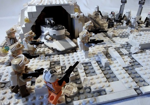 Hoth Snow Base - Bunker