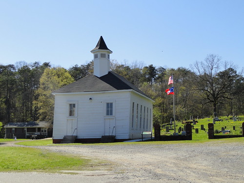 Van Wert Methodist Church, near Rockmart GA