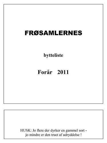 Froelisten2011