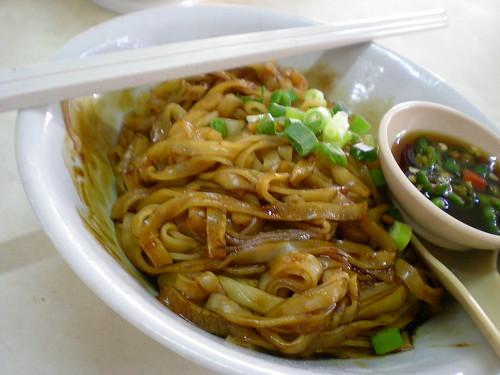 Jalan Alor pork noodles - dry
