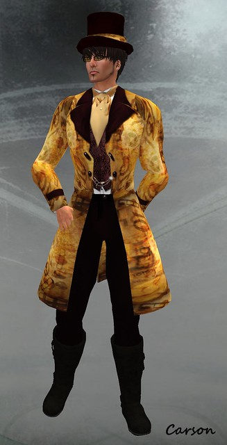 Cosmic Steam - Pants, Shirt, Jacket & Top Hat (2)