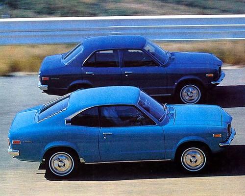1973 Mazda 808 Factory Photo