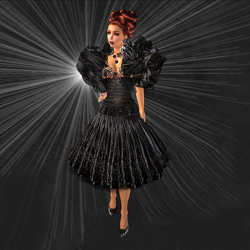 Fashion for Life - SAS Arrogance Gown, Cocktail Variation