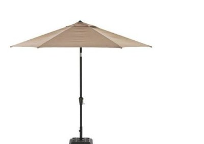 smith and hawken allogio market umbrella