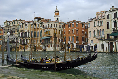 Grand Canal near the fish produce market