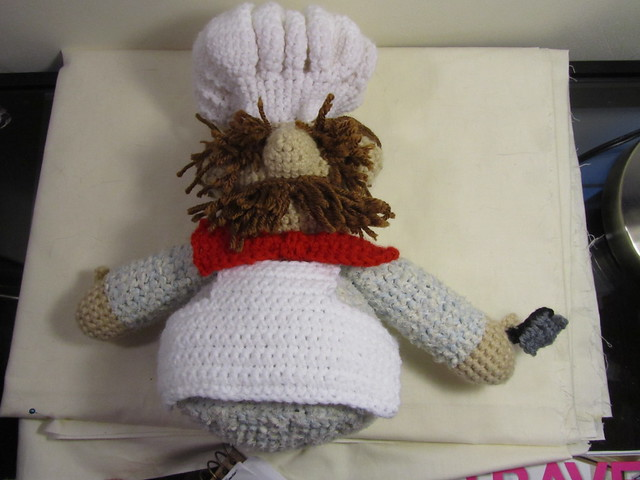 Swedish Chef Amigurumi