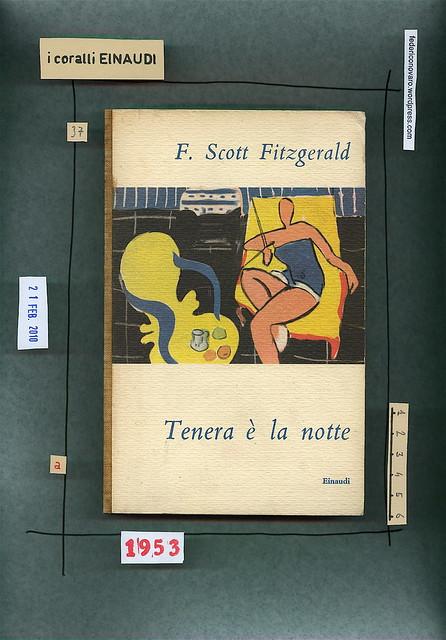Francis Scott Fitzgerald, Tenera è la notte. Einaudi 1953. Copertina