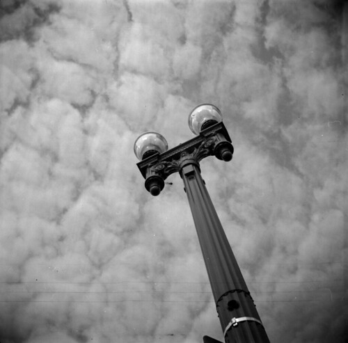 Lamp and clouds