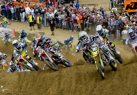 Supercross: Carrera de Motos derivada del Motocross