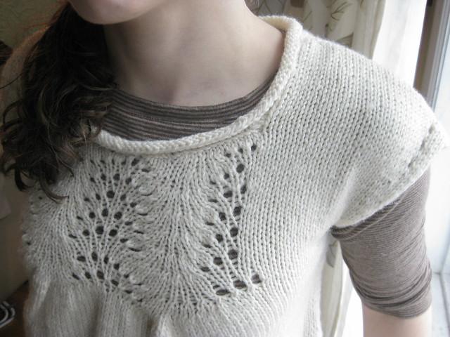 Winter White Overshirt