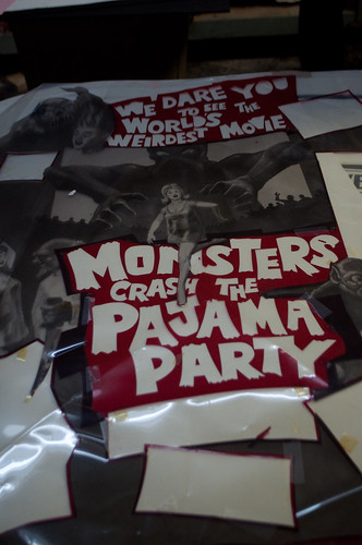 monster film close up
