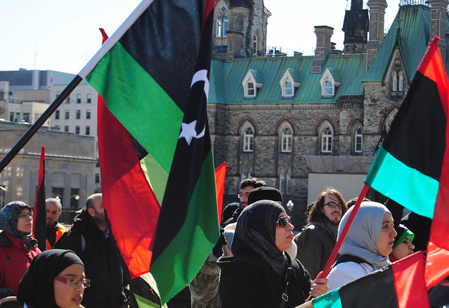 Libyan Protest - March 19