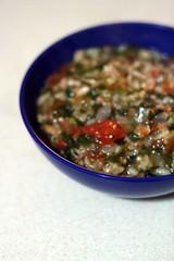 handmade52.11 tomato and sausage risotto