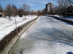Ottawa Ontario Canada  March 2011 — Rideau Can...