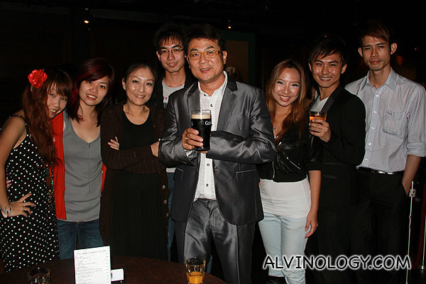 Another group picture with Jack Neo