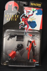 Bat-Inventory- The adventures of Batman & Robin Harley Quinn Figure