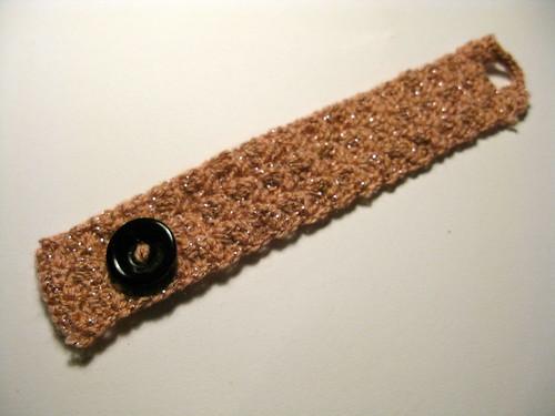 Gehaakte Armband / Crocher Wrist Cuff