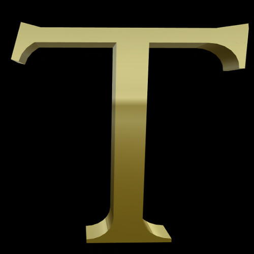 T sign