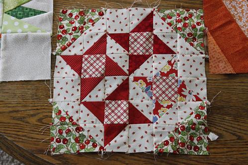 red half square triangles