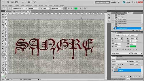 Photoshop 003 efectos con texto 001