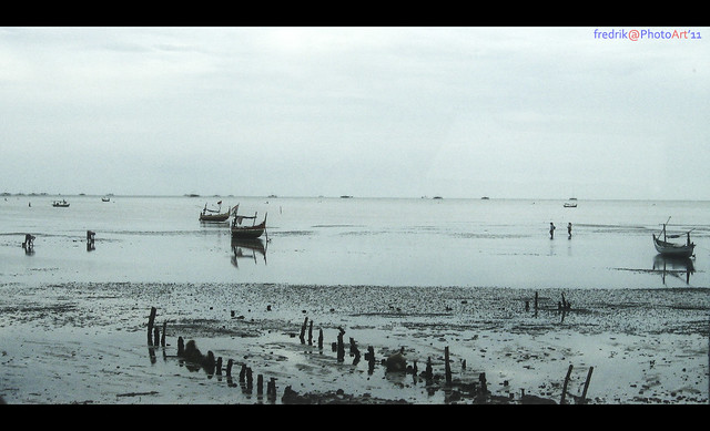 horizon view - pesisir pantai