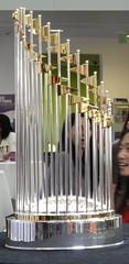 SF Giants' World Series Trophy at Yahoo!