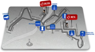 Ruta Maratón LALA 2011