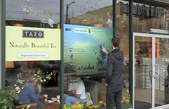 Starbucks Touchscreen Storefronts