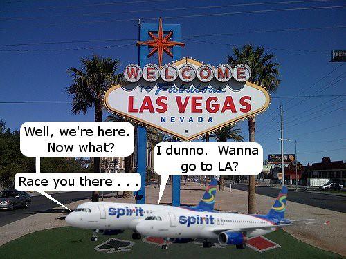 Spirit Las Vegas to LA