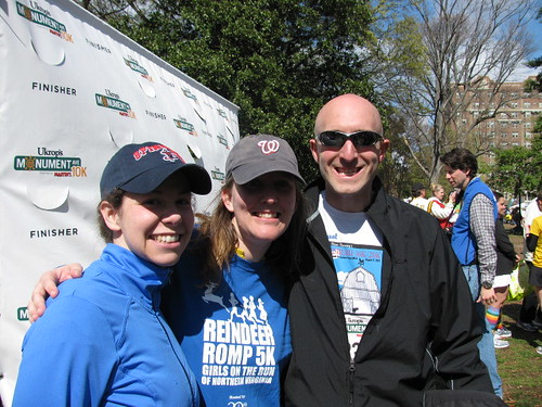 E, Jane and Todd Post-Race