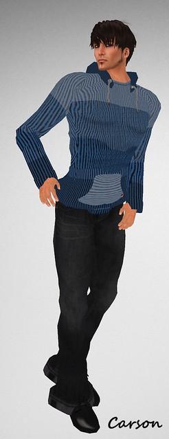B is for ... ~Justyn~ & ~Real men's stuff~  Justyn Hoodie & Bell Bottom Jeans