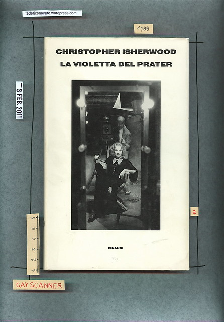 Christopher Isherwood, La violetta del Prater, Einaudi 1988. Copertina.