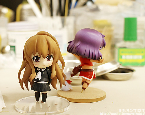 Nendoroid Petit Taiga and Nadia