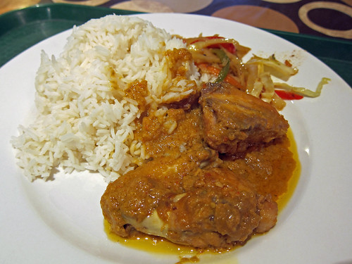Rice and Coconut Chicken