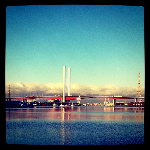 Bolte Bridge Monday Morning