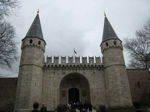Gate to the Topkapi Palace