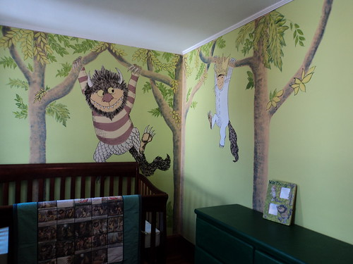 Matteos magical Where the Wild Things Are themed nursery