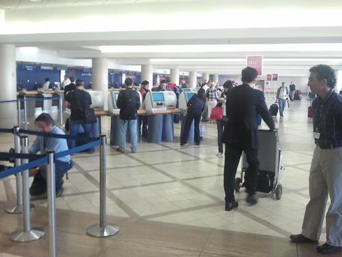 Delta Ticket Counter LAX