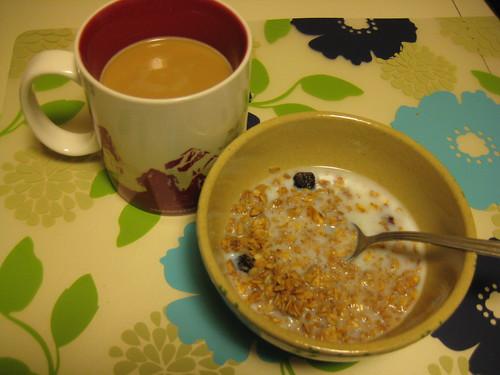 coffee, Jessica's granola