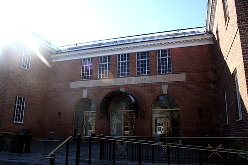 The National Baseball Hall of Fame