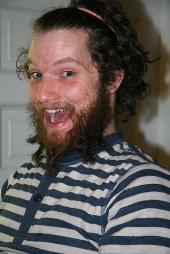 Jonathan can braid his beard!