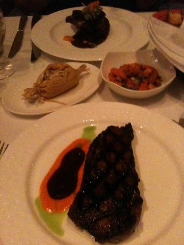 Mesa Grill dinner