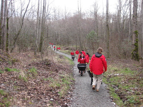 City Year and Wheelbarrows