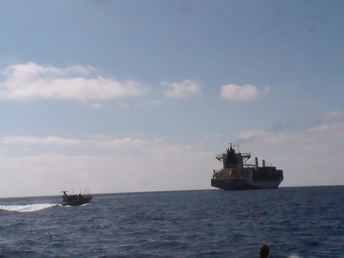 """""""Victoria"""" Cargo Ship Carrying Weaponry"""