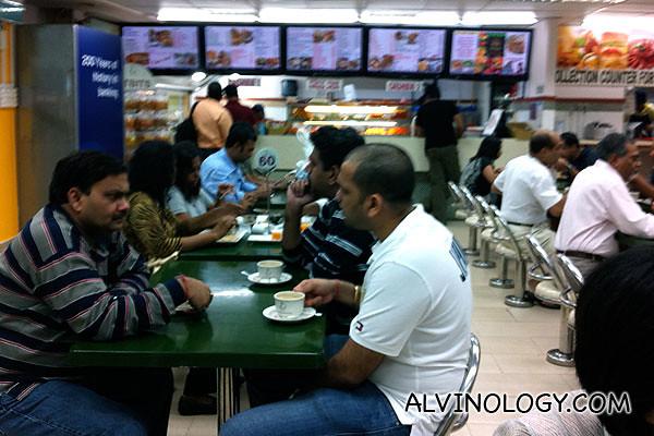 Ananda Bhavan at Syed Alwi Road