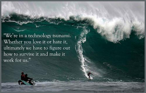 Technology Tsunami by ransomtech, on Flickr